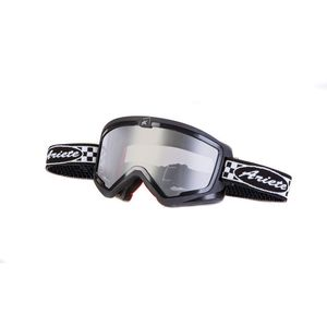 Masque cross MUDMAX RACER BLACK/WHITE 2019 Noir/Blanc