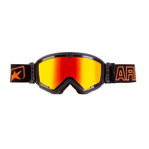 Masque cross MUDMAX BLACK/ORANGE IRIDIUM RED 2019 Noir/Orange
