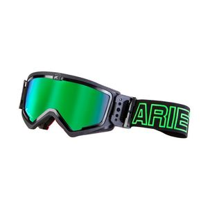 Masque cross MUDMAX BLACK/GREEN IRIDIUM GREEN 2019 Noir/Vert