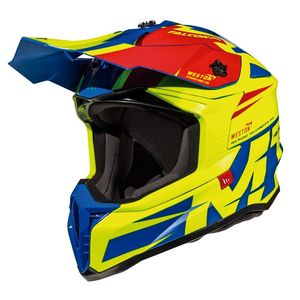 Casque cross FALCON - WESTON C1 - GLOSS FLUO YELLOW 2019 Gloss Fluo Yellow