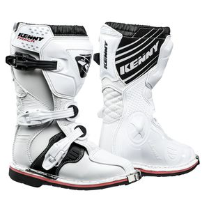 Bottes Cross Kenny Track Junior -blanc 2019