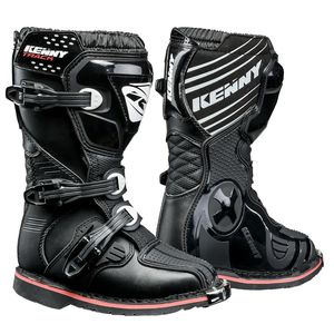 Bottes cross TRACK JUNIOR - NOIR  Noir