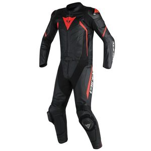 Combinaison AVRO D2 2 PIECES  Black/Black/Red