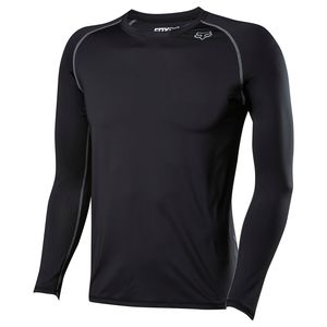 Maillot cross FREQUENCY BASE - LS - 2018  Noir