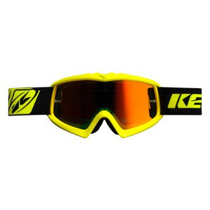 Masque cross KID PERFORMANCE - JAUNE FLUO  Jaune Fluo