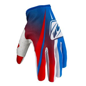 Gants Cross Kenny Destockage Strike - Bleu / Rouge - 2017