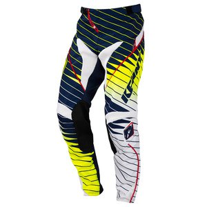 Pantalon Cross Kenny Destockage Performance Enfant Blue Yellow Flo 2016