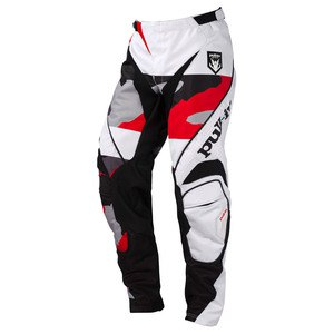 Pantalon cross FIGHTER  CAMO NOIR BLANC ROUGE 2016 Noir/Blanc/Rouge