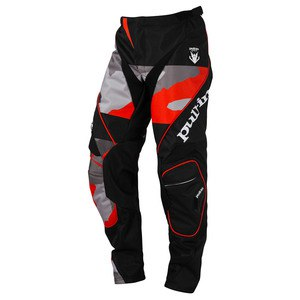 Pantalon cross FIGHTER - CAMO NOIR / ORANGE - 2017 Noir/Orange