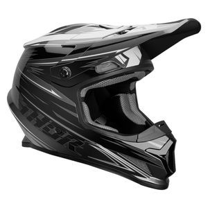 Casque cross SECTOR - WARP - CHARCOAL BLACK 2020 Noir/Gris