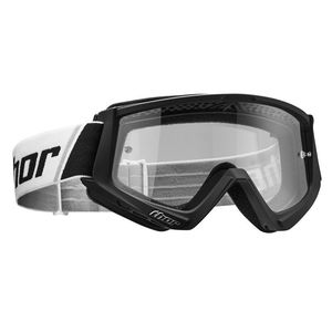 Masque cross YOUTH COMBAT - BLACK WHITE  Noir/Blanc
