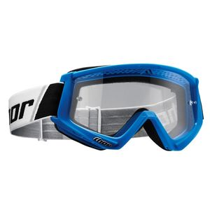 Masque cross COMBAT BLUE WHITE 2021 Bleu/Blanc