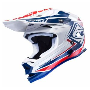 Casque cross PERFORMANCE - NAVY / BLANC / ROUGE - 2017 Bleu/Blanc/Rouge