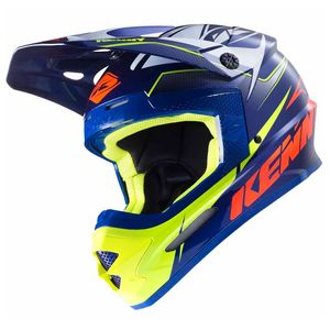Casque cross TRACK - MARINE - 2017 Bleu