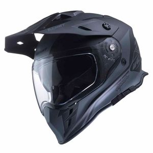 Casque Cross Kenny Explorer - Gris Noir 2019