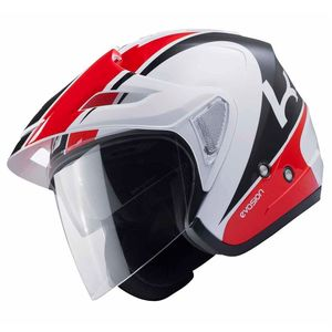 Casque Kenny Evasion - Blanc Rouge - 2018