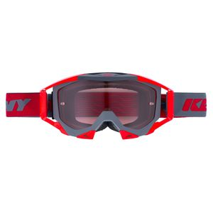 Masque Cross Kenny Titanium - Gris Mat Rouge 2019