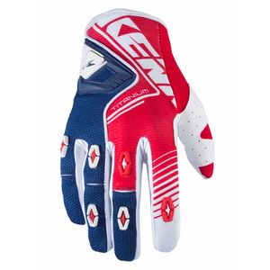Gants Cross Kenny Titanium - Rouge Bleu - 2018