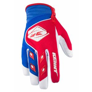 Gants Cross Kenny Destockage Track - Rouge / Bleu - 2017