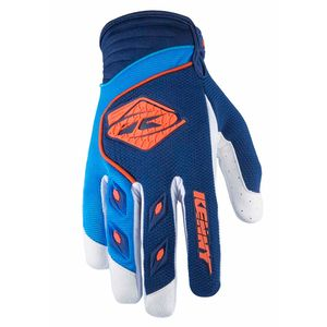 Gants cross TRACK - NAVY / CYAN / ORANGE - 2017 Bleu/Orange