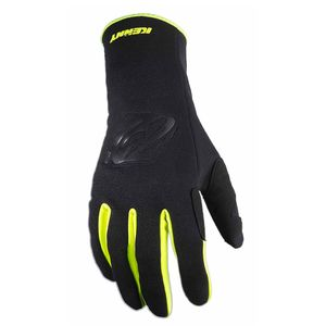 Gants cross WIND PRO NEON YELLOW 2020 Noir