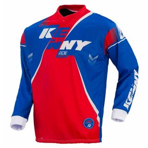 Maillot cross TRACK YOUTH - BLEU / ROUGE - 2017 Bleu/Rouge