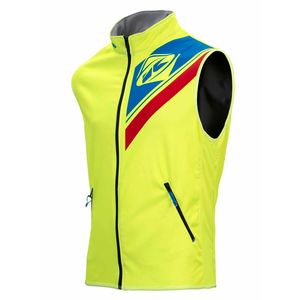 Veste Enduro Kenny Body Warmer Enduro - Jaune Fluo Bleu Rouge - 2018
