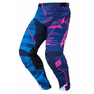 Pantalon cross PERFORMANCE - BLEU / ROSE - 2017 Bleu/Rose