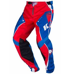 Pantalon cross TRACK YOUTH - BLEU / ROUGE - 2017 Bleu/Rouge