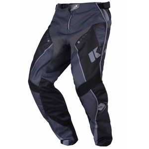 Pantalon cross TRACK YOUTH - NOIR / GRIS - 2017 Noir/Gris