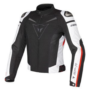 Blouson SUPER SPEED TEX  Black/White/Red