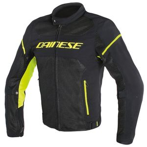 Blouson AIR FRAME D1 TEX  Black/Black/Yellow