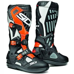 Bottes cross ATOJO SRS BLANC/NOIR/ORANGE FLUO 2020 Blanc/Orange