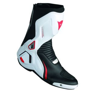 Bottes COURSE D1 OUT  Black/White/Red