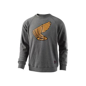 Sweat WING CREW  Charcoal
