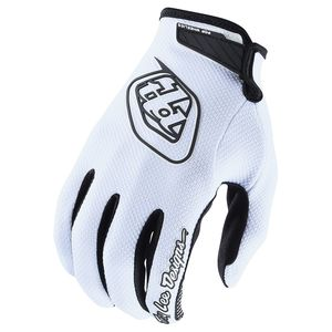 Gants cross AIR - SOLID - WHITE 2020 Blanc