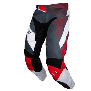Pantalon cross AEROLITE OPTICA GREY RED 2018 Gris/Rouge