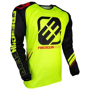 Maillot cross DEVO COLLEGE NEON YELLOW 2019 Jaune