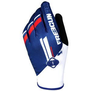 Gants cross DEVO COLLEGE BLUE RED 2018 Bleu/Rouge