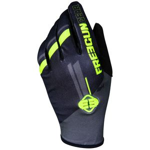 Gants cross DEVO COLLEGE GREY NEON YELLOW 2020 Gris/Jaune