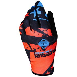 Gants cross DEVO USA NEON ORANGE BLUE ENFANT  Orange/Bleu