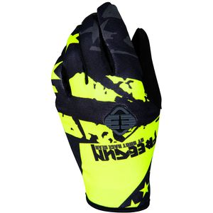 Gants cross DEVO USA NEON YELLOW ENFANT  Jaune