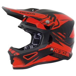 Casque cross XP-4 DIVISION NEON ORANGE ENFANT  Orange