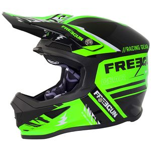 Casque cross XP-4 NERVE NEON GREEN 2018 Vert