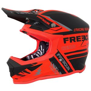 Casque cross XP-4 NERVE NEON ORANGE 2018 Orange