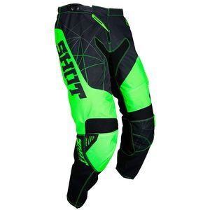 Pantalon cross CONTACT INFINITE NEON GREEN 2018 Vert