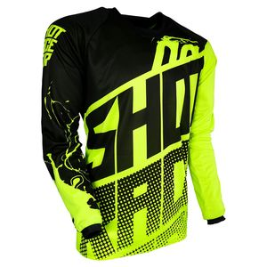Maillot cross DEVO VENOM NEON YELLOW ENFANT  Jaune