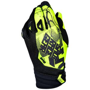 Gants cross DEVO VENOM NEON YELLOW ENFANT  Jaune