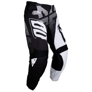 Pantalon cross DEVO VENOM BLACK WHITE ENFANT  Noir/Blanc