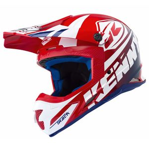 Casque cross TRACK - ROUGE -  2018 Rouge